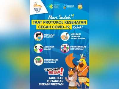 Kumpulan Media Sehat PON XX Papua