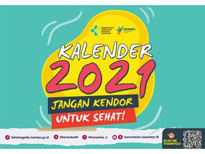 Kumpulan Media Kalender Kesehatan 2021