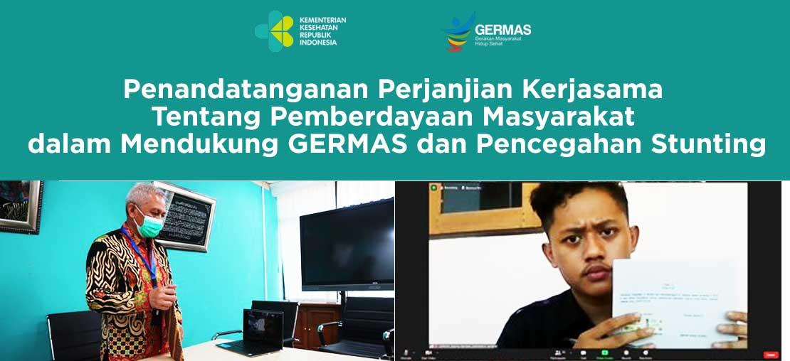 Slide_Penandatanganan Perjanjian Kerjasama tentang Pemberdayaan Masyarakat Dalam Mendukung GERMAS dan Pencegahan Stunting