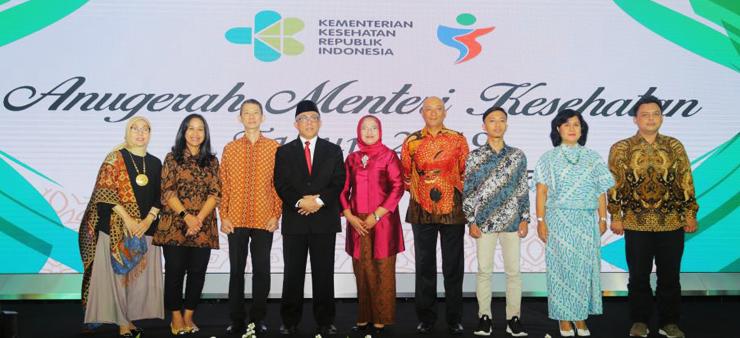 Anugerah Kemenkes CSR Award 2019