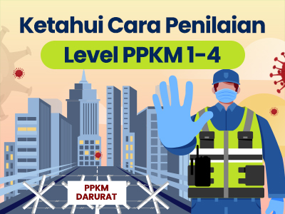 Ketahui Cara Penilaian Level Pemberlakukan Pembatasan Kegiatan Masyarakat (PPKM) 1-4
