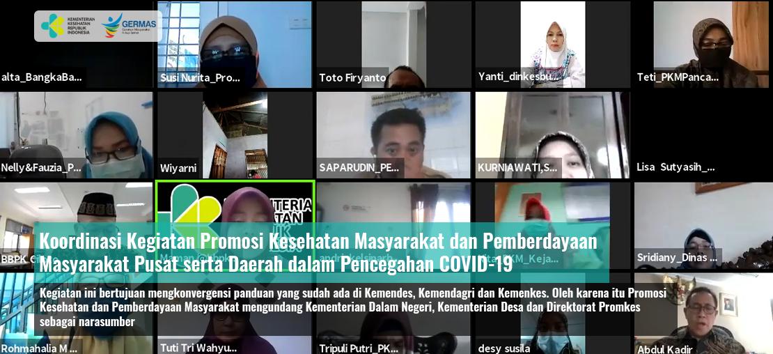 Slide_Koordinasi Kegiatan Promosi Kesehatan Masyarakat dan Pemberdayaan Masyarakat Pusat serta Daerah dalam Pencegahan COVID-19