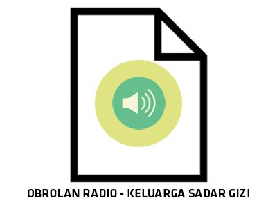 Audio : Keluarga Sadar Gizi