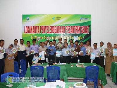 Lokakarya Pesantren Sehat di Gontor