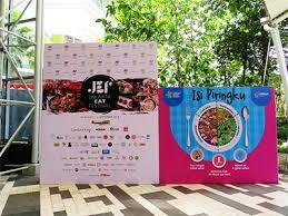 Kampanye ISI PIRINGKU dalam Jakarta Eat Festival 2018