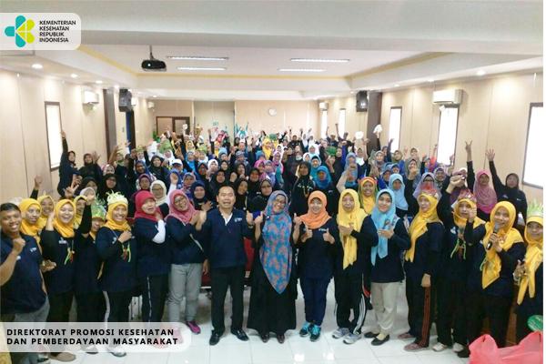 Kolaborasi Gerakan Masyarakat Hidup Sehat Kemenkes RI dan PP Muhammadiyah 2017