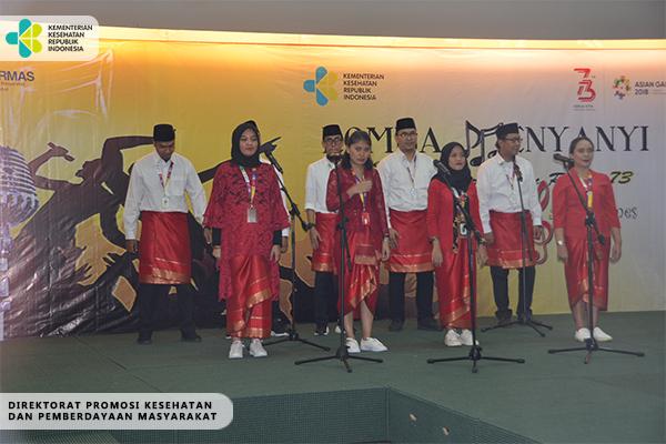 Lomba Paduan Suara Memperingati 17 Agustus dan Asian Games 2018
