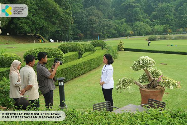 Shooting untuk Asian Games 2018 di Kebun Raya Bogor 1
