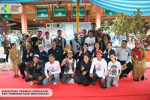 Kegiatan Ngabuburit Sehat di Terminal Kampung Rambutan 4