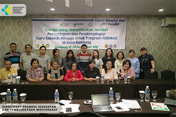 Kegiatan GERMAS Bersama Ormas PGI di Bandung 2