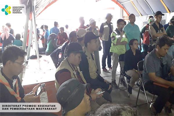 Kegiatan Tim TGC Penanganan Gempa dan Tsunami di Palu