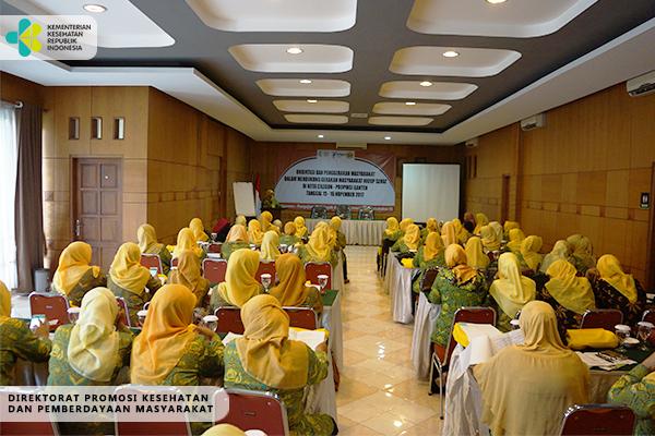 Sosialisasi GERMAS Bersama Ormas Pengajian Al-Hidayah-Cilegon 2