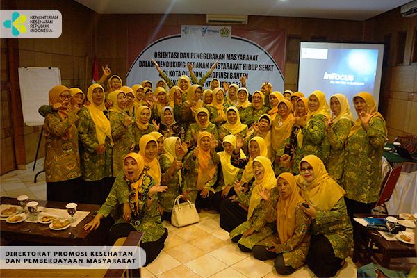 Sosialisasi GERMAS Bersama Ormas Pengajian Al-Hidayah-Cilegon 5