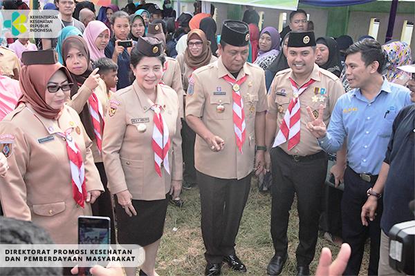 Peringatan Hari Ulang Tahun Saka Bakti Husada di Tanah Bumbu, Kalimantan Selatan