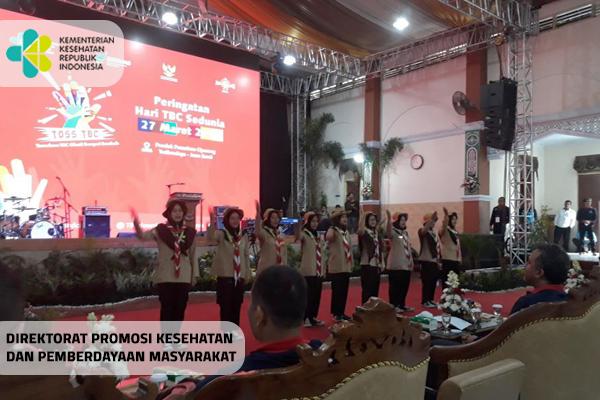 Peringatan Hari TB Sedunia 2019 di Ponpes Tasikmalaya, Jabar