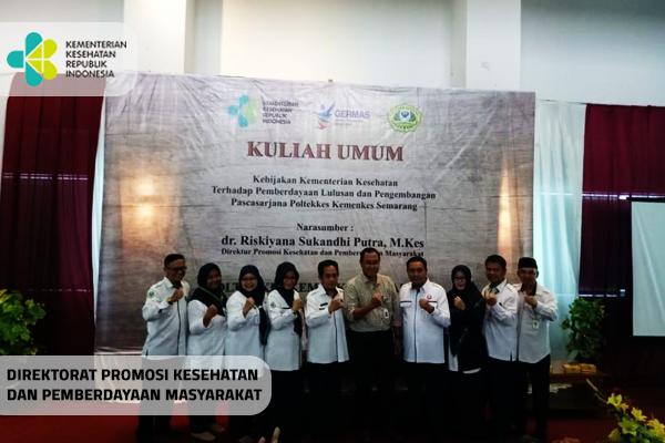 Kegiatan Kuliah Umum di Poltekkes Semarang