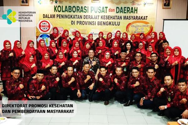 Kegiatan Rakontek Kesmas di Provinsi Bengkulu Tahun 2019