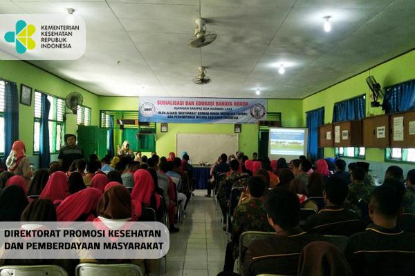 Sosialisasi dan Edukasi Bahaya Rokok di Kampus Swadipha Lampung