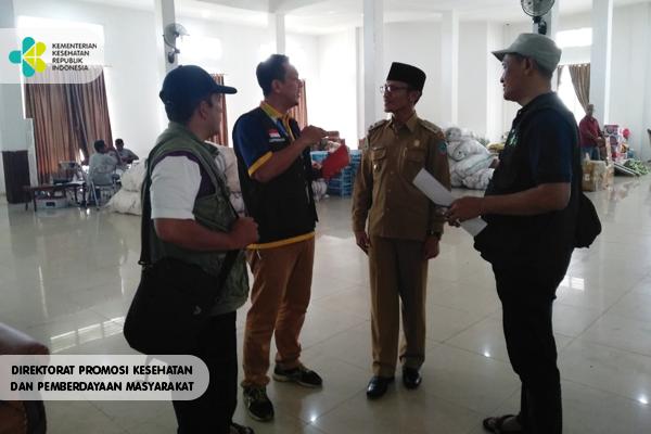 Tim TGC Promkes Terjun ke Lokasi Gempa Halmahera Selatan