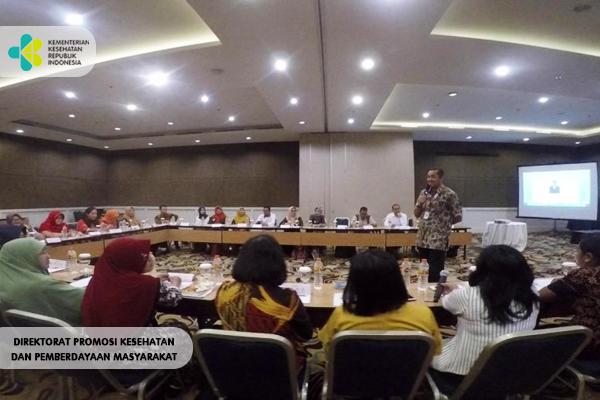 Kegiatan Pertemuan Bagi Pengelola PKRS Hotel Haris CC Bandung