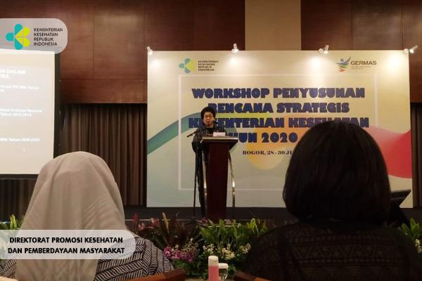 Workshop Penyusunan Renstra Kemenkes 2020-2024
