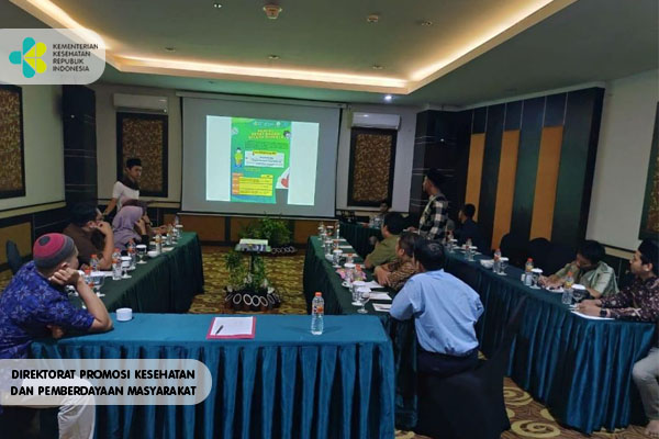 Pertemuan Pendampingan Review Media KIE Dengan Yayasan Jannur