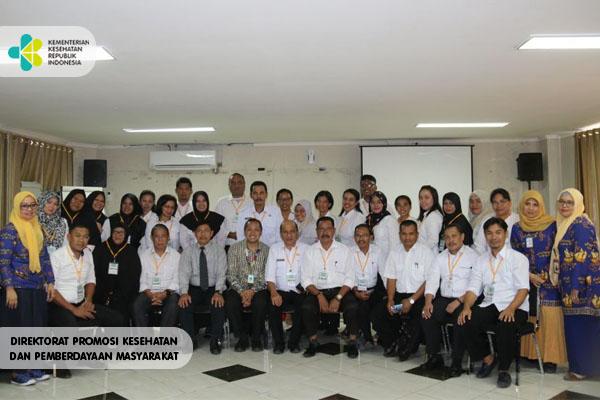 Pelatihan Jabatan Fungsional Promkes di BBPK Makassar