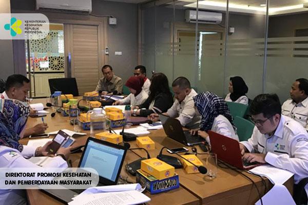 Rapat Pembahasan RPMK tentang Saka Bakti Husada
