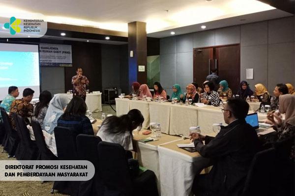 Pelatihan Manajemen PKRS di Botanical Garden Bogor