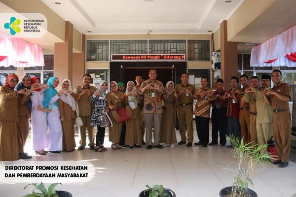 Penilaian Lomba Sekolah Sehat Di Padang Sumatra Barat