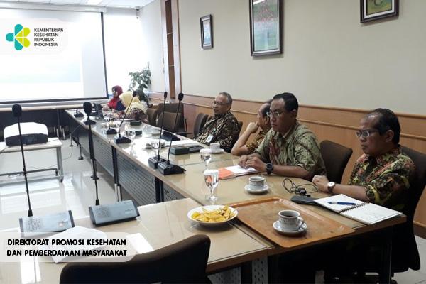 Rapat Koordinasi Rencana Pelatihan Kadinkes Di R. 703 PPSDM