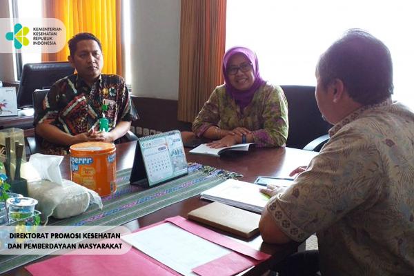 Pendampingan PKRS ke RS dr. Sitanala, Tangerang