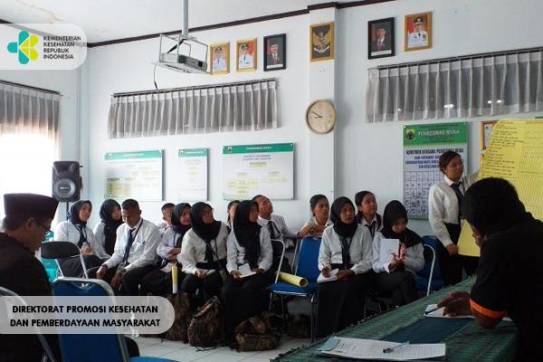 Pendampingan PKL Nusantara Sehat Batch 13 di Puskesmas Muka