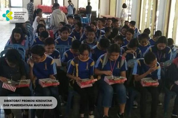 Sosialisasi Germas Di Kota Kupang