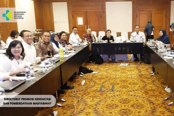 Pertemuan Standarisasi Stratkom KAP Tenaga Daerah Bersama TP2AK