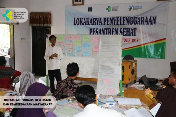 Lokakarya Pesantren Sehat Di Kota Metro Provinsi Lampung