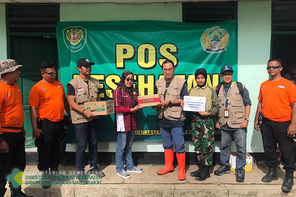 TGC Promkes Distribusikan Bantuan dari Mitra ke Korban Banjir Bogor dan Lebak