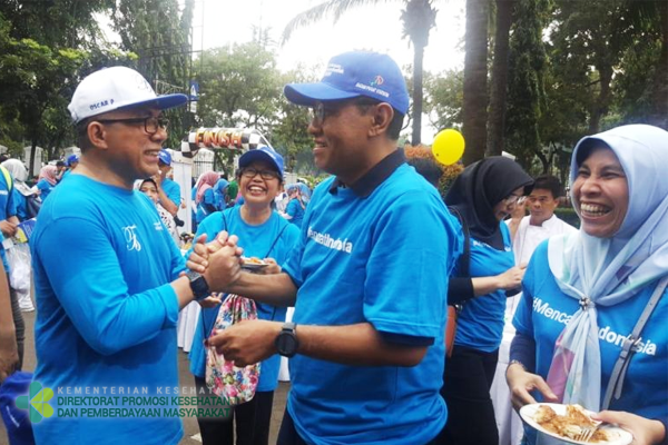 Jalan Sehat Forum Ses K/L dan Kasum/Asrena TNI/Polri