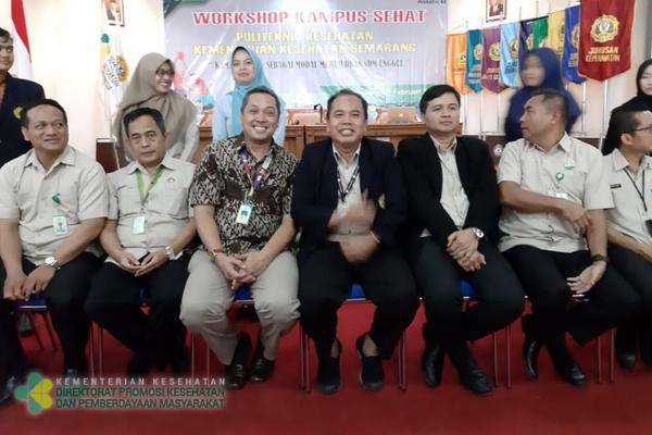 Workshop Kampus Sehat Poltekkes Kemenkes Semarang
