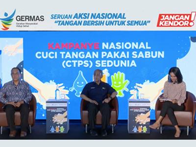 Kampanye Nasional dan Hari Cuci Tangan Pakai Sabun Sedunia 2020