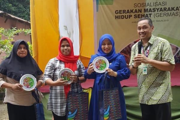 Gambar Peserta Sosialisasi GERMAS di Langkat, Sumatera Utara