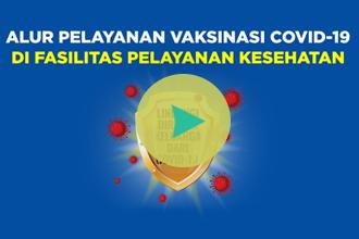Video Alur Pelayanan Vaksinasi Covid-19