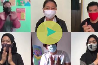 Video Tepuk Tangan 56 Detik Sebagai Apresiasi Kepada Pejuang Pencegahan Covid-19