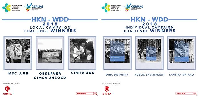 Pengumuman Pemenang Lomba Campaign HKN ke-54 dan World Diabetes Day 2018