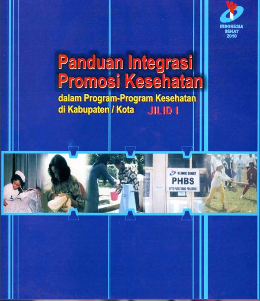 Buku Pedoman Pelaksanaan Promosi Kesehatan Di Puskesmas