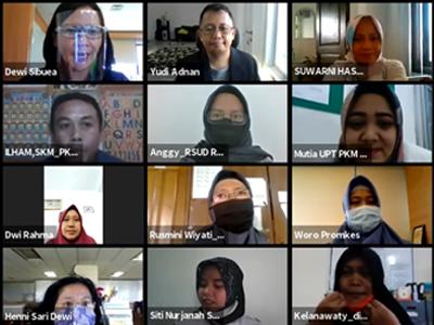Pertemuan Simulasi Pengisian DUPAK Jabatan Fungsional PKM