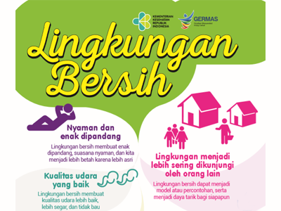 Flyer Lingkungan Bersih 15x21cm