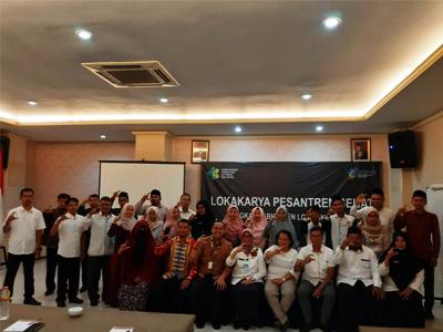 Lokakarya Pesantren Sehat di Lombok Barat 2020