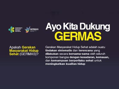 Flyer: GERMAS 15x21cm