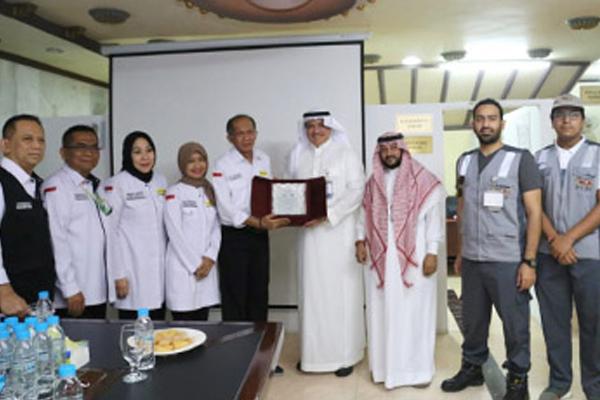 Kemenkes Mendapatkan 4 Penghargaan Kesehatan Haji
